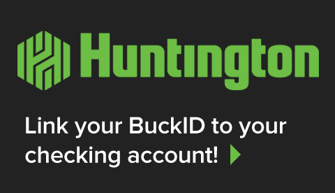 Huntington: Link your BuckID to your checking account!