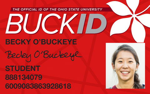 Example BuckID Card